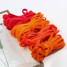 Belt Ribbon Rubber-Band Clothing Webbing Pants Trim Garment Sewing-Accessories Flat 22colors