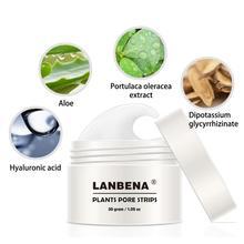 LANBENA Blackhead Remover Nose Face Mask Pore Strip Black Mask Peeling Acne Treatment Unisex Deep Cleansing Skin Care Tool TSLM1