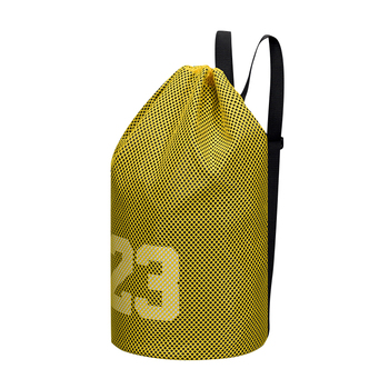 Basketball Backpack Large basketball bags For balls Soccer Drawstring Mash pack Fitness Net Pocket Outdoor For Men Women image