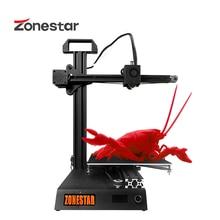 ZONESTAR Z6 Fast Install Cheap Education Studens Pocket Mini 3D Printer High Precision Resolution Full Metal DIY Kit Free Ship
