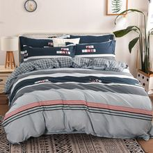 20 Style Bedding Set 4Pcs/Set Bed Textile Products Bed Set Cartoon Print Cute Bed Sheet Cotton Pillowcase & Duvet Cover 4pcs geo print duvet cover set