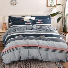 цена на 20 Style Bedding Set 4Pcs/Set Bed Textile Products Bed Set Cartoon Print Cute Bed Sheet Cotton Pillowcase & Duvet Cover