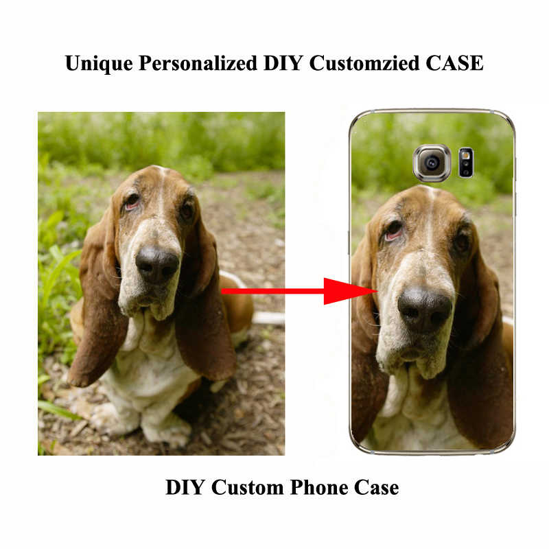 DIY TPU สำหรับ Samsung Note A71 A51 10 Plus ภาพที่กำหนดเองสำหรับ Samsung A40 S7 S8 S9 s10 S10E S20 Ultra PLUS