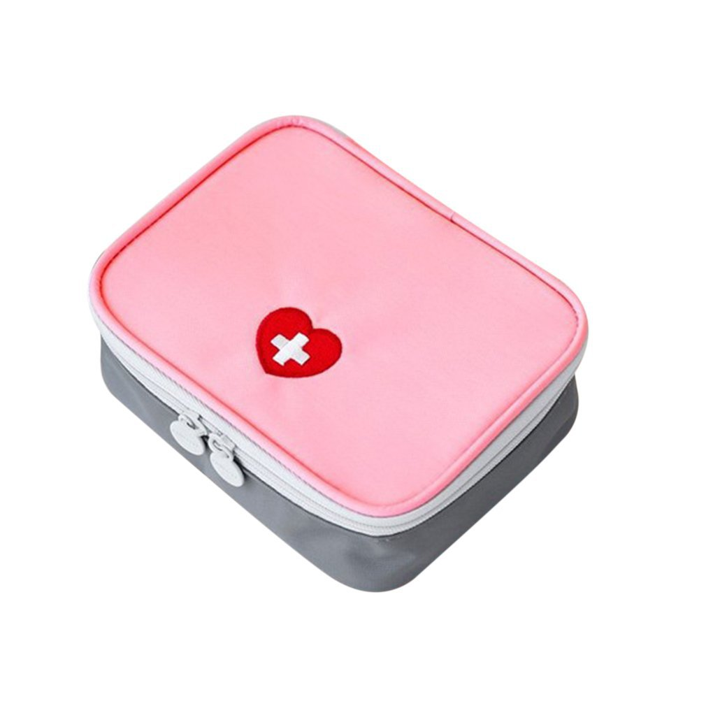 Mini Outdoor First Aid Kit Bag Travel Portable Medicine Package Emergency Kit Bags Medicine Storage Bag Small Organizer OUTAD