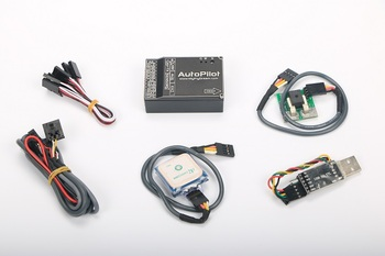 2020 New MyFlyDream MFD AutoPilot All In One design with GPS Unit 100A Current sensor For FPV System