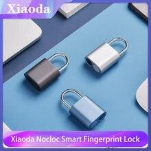 Xiaoda nocloc умный замок со сканером отпечатков пальцев для