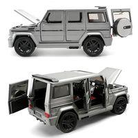1:24 legierung Auto Modell Kollektiven Große G65 Spielzeug Fahrzeug (M929Y/ M923Y) neue Vesion Matte Schwarz/Weiß/Grau Malerei Öffnen Türen