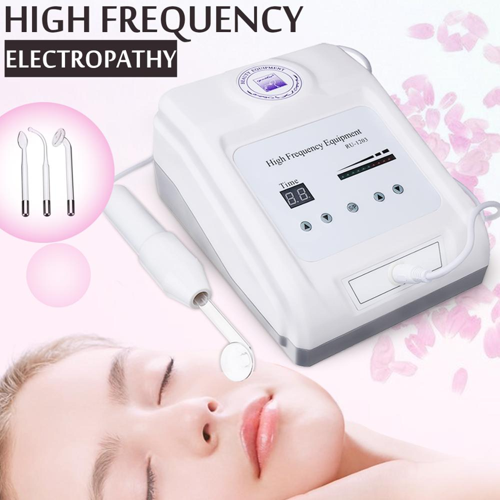 Usine prix peau beauté machine électropathie guérison acné Machine haute fréquence électrothérapie bâton Facial beauté Machine
