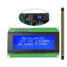 LCD2004 2004 I2C 20x4 2004A Blue Screen LCD Module IIC/I2C Serial Interface Adapter Module for arduino UNO MEGA2560 hailangniao 1pcs lot lcd board 2004 20 4 lcd 20x4 5v blue screen blacklight lcd2004 display lcd module lcd 2004