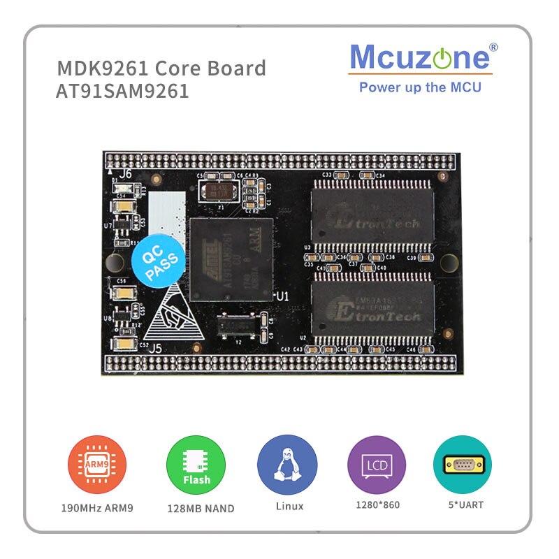 AT91SAM9261 MDK9261 Core Board ARM9 ATMEL, ARM926EJ-S, Classic MCU,  WINCE And Linux BSP