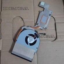 Новый охлаждающий вентилятор с радиатором для Dell Latitude E6530 MF60120V1-C440-G9A 02MK5J CN-02MK5J-60362 AT0LH002ZS0