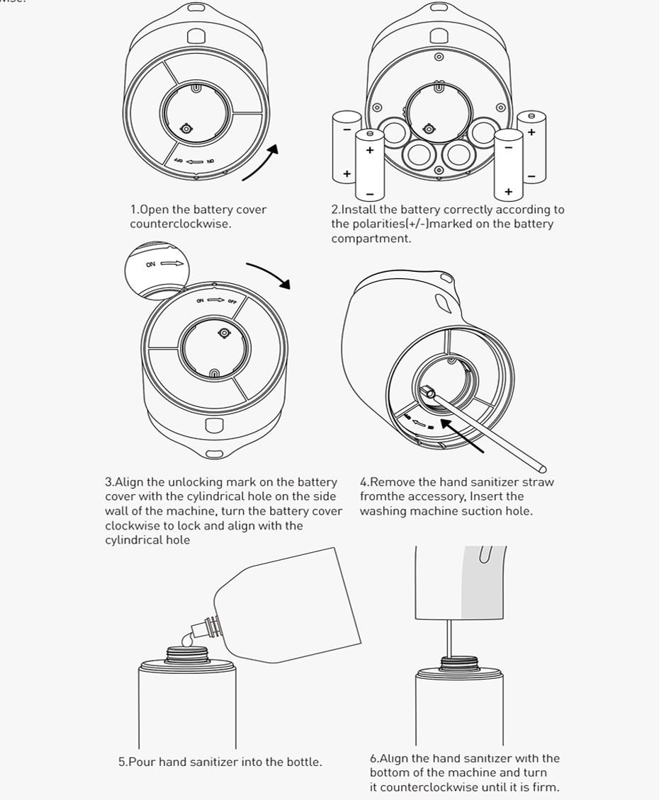 H412a43cbd4304e0b8365475ff4969eb9K Baseus Intelligent Automatic Liquid Soap Dispenser Induction Foaming Hand Washing Device for Kitchen Bathroom (Without Liquid)