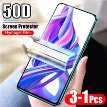 50D Гидрогелевая пленка для huawei honor 9x pro, 8x, 8c, 8a, 8s, 10 lite, 10i, 20s, 20 pro, Защитная пленка для экрана honor9x, Защитная пленка для stk-lx1