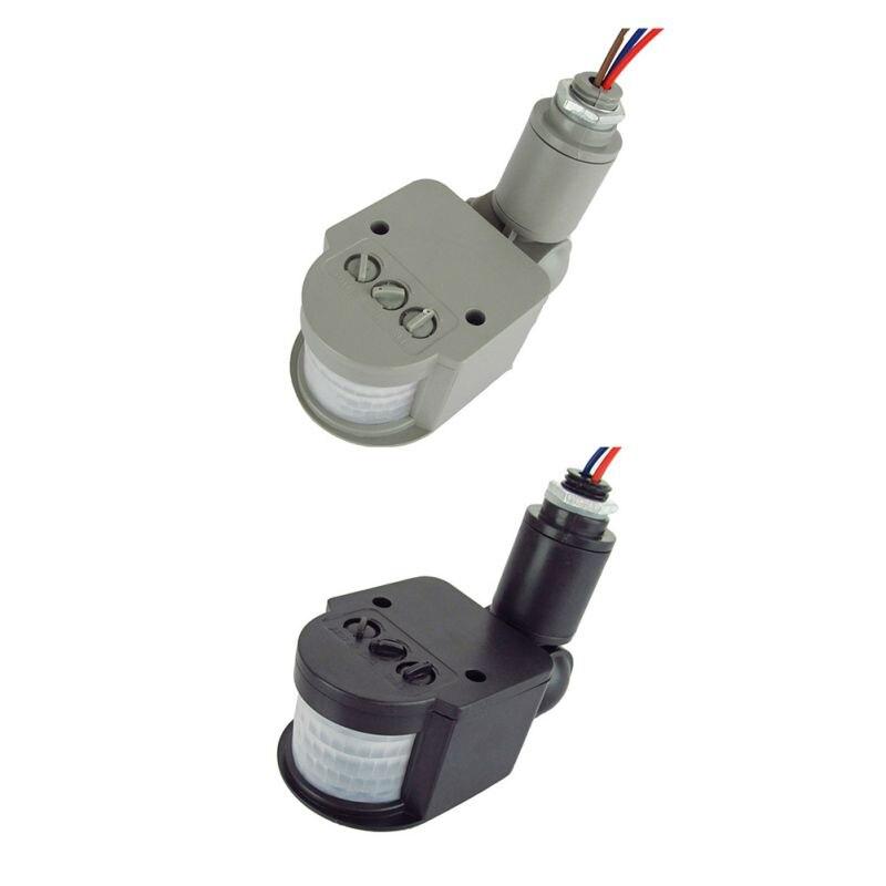 Motion Sensor Light Switch Outdoor AC 220V Automatic Infrared PIR Motion Sensor Switch LED Light