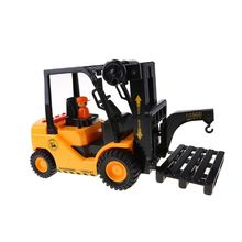 Children #8217 s toy alloy forklift truck tow coupling model metal engineering truck die casting engineering truck boy toy gift WXTD cheap Plastic CN(Origin) Maternity Diecast WXTD8YY1100020
