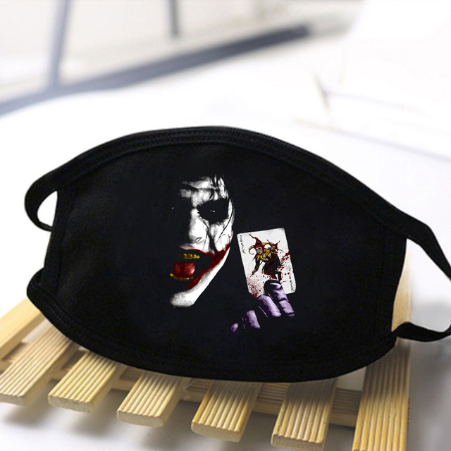 Fashion Skull Printed Unisex Mouth Mask 2020 Black Casual Masks Mouth Half Muffle Face Mask Kpop High Quality Skin Friendly Mask 1