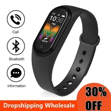 Smartband inteligentna bransoletka Monitor ciśnienia krwi pulsometr wodoodporna opaska na nadgarstek M5 M4 inteligentna opaska Sport tracker Fitness Watch