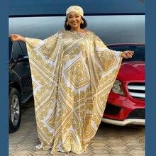 Doib африканские платья для женщин большого размера с цифровой