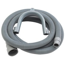 2.5M Machine Dishwasher Drain Hose Extension Washing Pipe with Bracket Set(China)