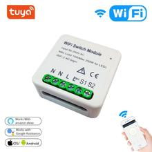 Tuya Mini WiFi Smart Switch Module DIY Breaker Smar