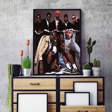 ASAP Mob Cozy Tapes Rocky Hot Music Albums Cover Hip Hop Rap Art Painting Silk Canvas Poster Wall Home Decor