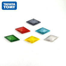 Takara tomy pokemon aleatório 6 pçs figura de ação cristal modelo sun moon jogo ligação 4d somatossensorial z pulseira brinquedos natal