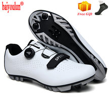 2020 white style mtb cycling shoes men breathable racing road