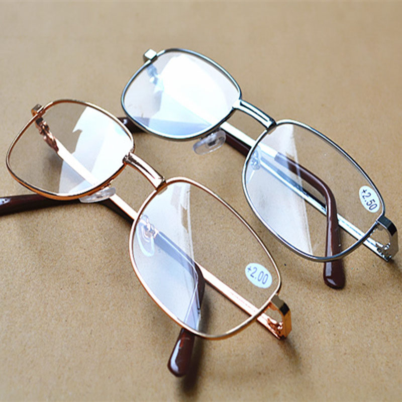Glasses Eyewear Vision Magnifier Presbyopic Clear For Parents Gift Portable