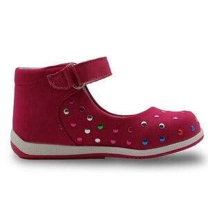 Image 4 - Apakowa crianças verão gênio sandálias de couro sapatos do bebê da criança meninas sandálias 2017 moda crianças meninas casuais sapatos planos