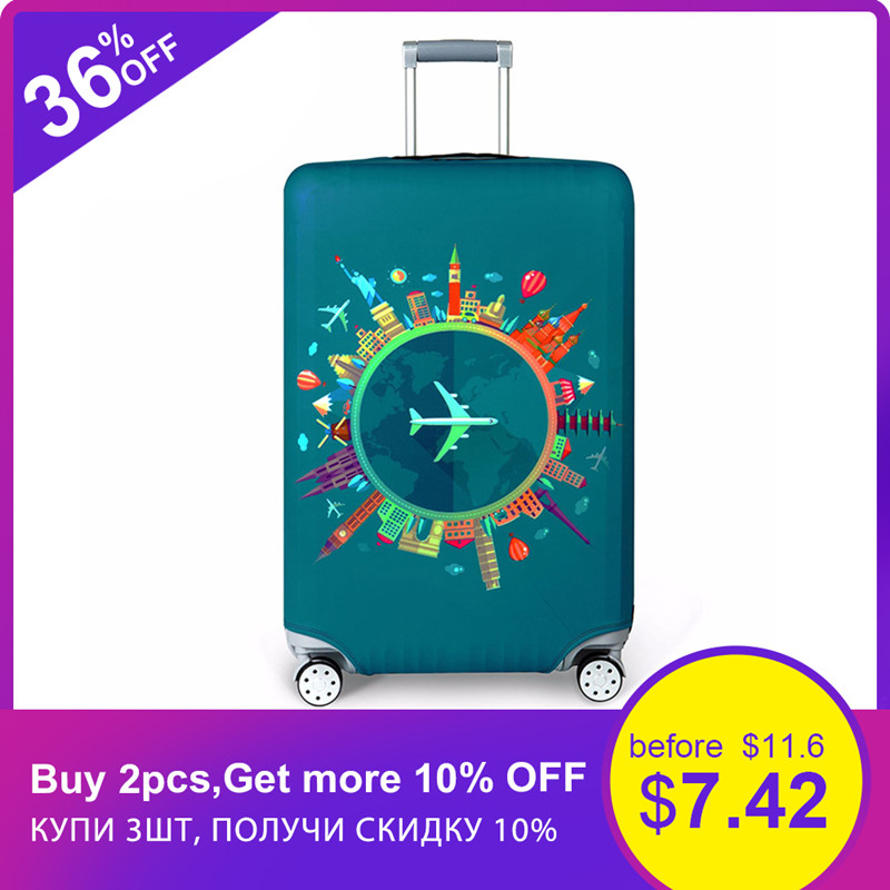Suitcase-Case Luggage-Cover Protective-Cover Travel-Accessorie Baggag Elastic Apply-To