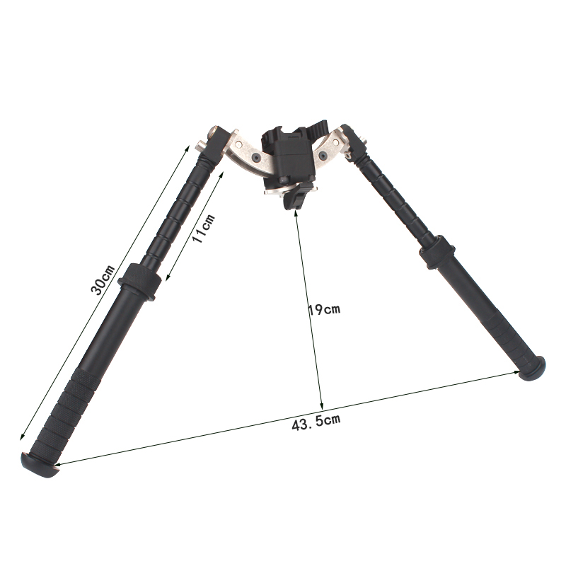 Rifle-Accessory Photography-Bracket Bipod Hunting-Shooting Airsoft Outdoor for 360-Degree-Rotate