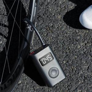 Image 3 - الأصلي Xiaomi Mijia المحمولة الذكية الرقمية الإطارات ضغط كشف منفاخ كهربائي مضخة سيارة دراجة نارية كرة القدم