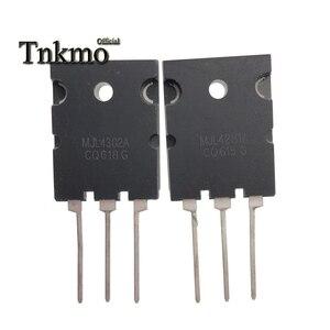 Image 2 - Transistor de potencia de silicona, 5 pares, MJL4302A, TO 3PL, MJL4302 + MJL4281A, MJL4281, TO3PL, 15A, 350V, 230W, NPN, PNP