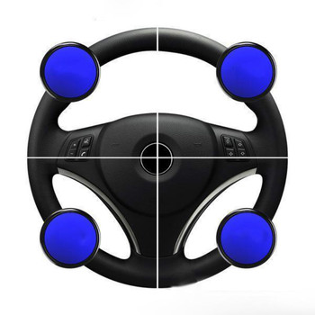 Car Steering Wheel Booster Ball Car Steeringbooster Silicone Power Steering Handle Ball Booster Strengthener Auto Spinner Knob