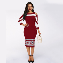 Sisjuly Sexy Plus Size Bodycon Dress Women Black Office Elegant Off Shoulder Stylish Print Vintage Blue Party Casual Midi Dress sisjuly black 38