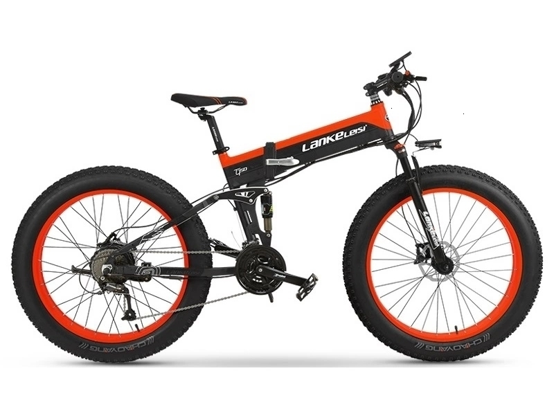 1000W OEM Fat Tire E Bike 48V XT750Plus Spoke wheel Electric Bike / Snow Bike T750 with 10AH L G Lithium Battery 3