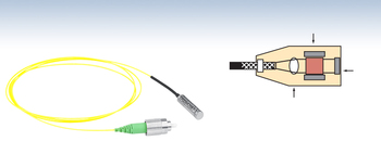 FRM Faraday Mirror Angle 45 Optical Rotation Hydrophone Interference System