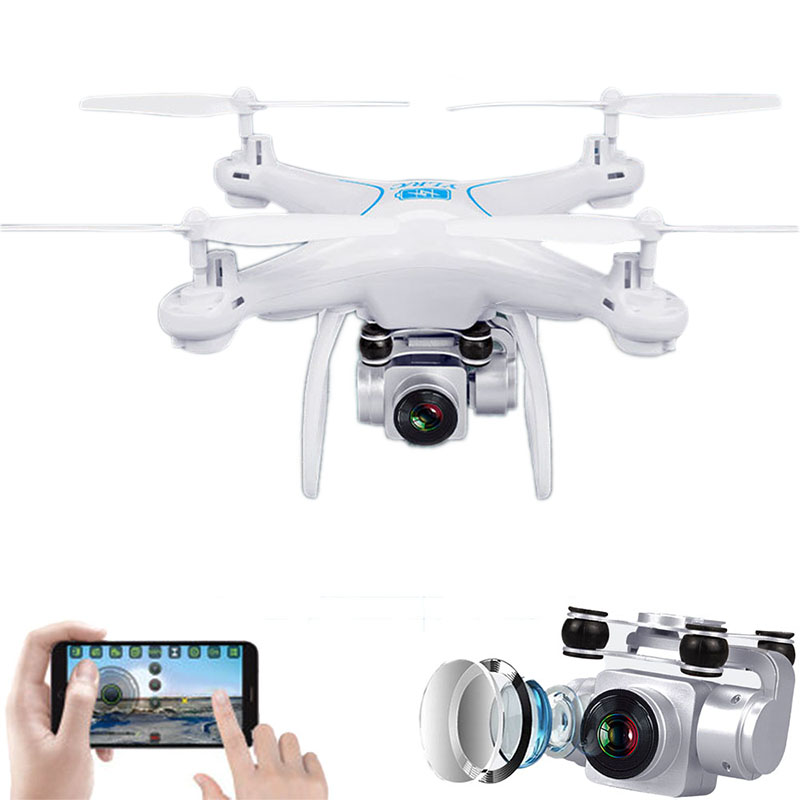 2019 New S29 Rotating Camera HD Aerial Photography Air Pressure Hover A Key Landing Flight 20 Minutes RC Quadcopter Helicopter