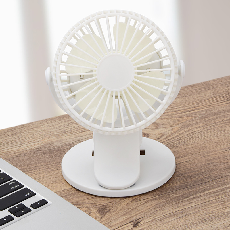 New Portable Handheld Small Fan New Clip USB Fan Charging Desktop Mini Portable Desktop Fan Desktop Outdoor|Fans|   - title=