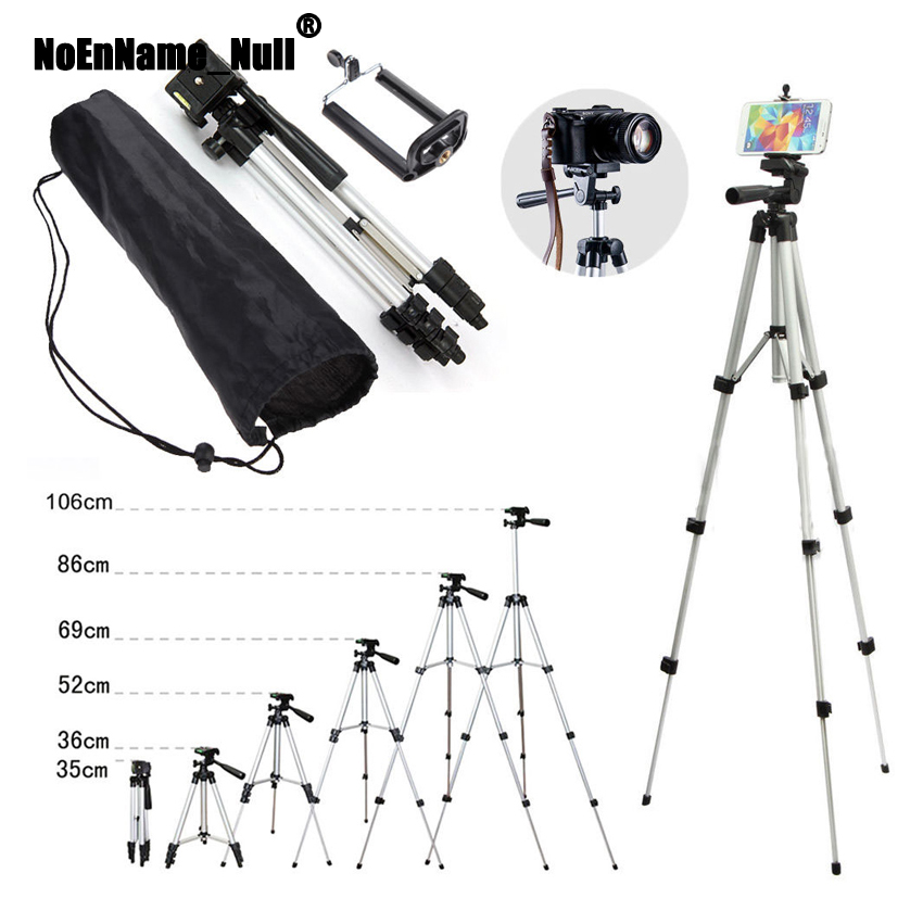 Professional Camera Tripod Stand Holder Mount Bag For iPhone Samsung Cell Phone for Digital Camera tripods