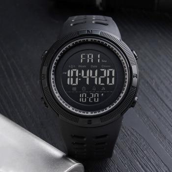 Couple Watches Men Fashion Outdoor Alarm Clock Digital Display Waterproof Calendar Sports Wrist Watch Silicone band relogio inte 5