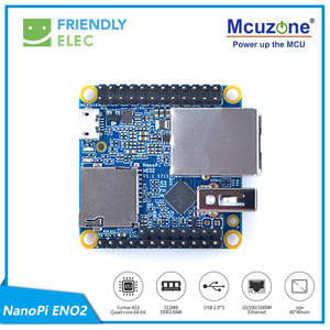 Image 2 - NanoPi NEO2 Black CNC all metal aluminum shell FriendlyELEC NEW Complete Starter Kit, with NanoHat OLED display micro usb 16GB