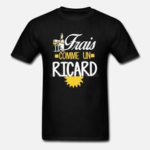 T-Shirt homme femme, avec Frais Comme un Ricard