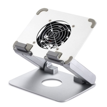Tablet Support, Tablet Computer Radiator, Aluminum Alloy Stand 15.6-Inch Portable Monitor Lifting Stand