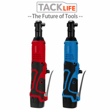 "TACKLIFE 18V Electric Wrench Kit 3/8"" Cordless Ratchet Wrench Rechargeable Scaffolding 65NM Torque Ratchet With Sockets Tools"