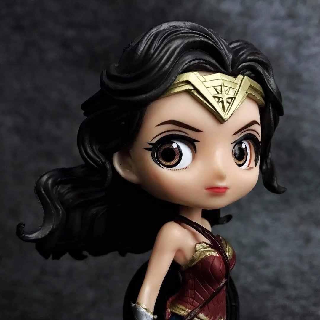 Yaya Anime Dc Cartoon Cute Big Eyes Doll Series Wonder Woman Ab