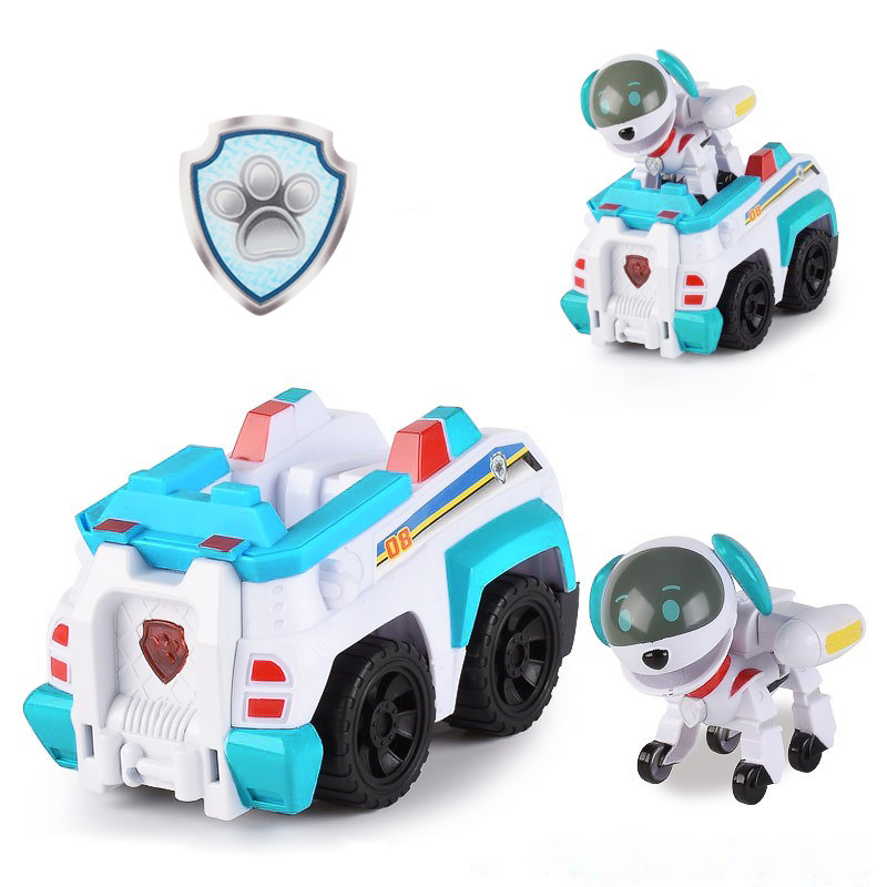 Paw Patrol Dog Tracker Robo-Dog Tracker Puppy Set Toys Patrulla Canina Action Figures Chase Marshall Ryder Model Toy Kids Gift