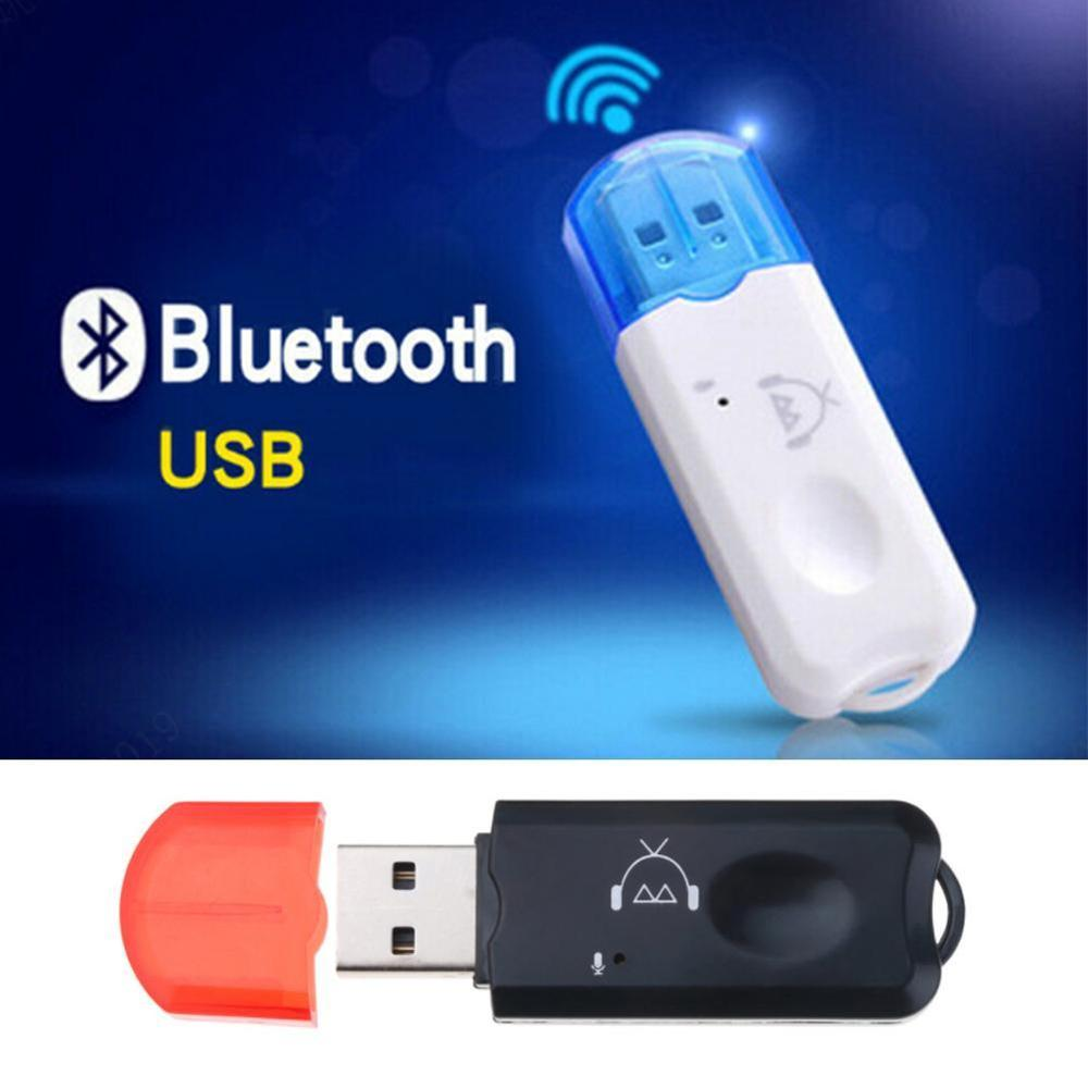 NEW USB AUX Bluetooth Receive Wireless Audio Adapter Stereo With Microphone For USB Car MP3 Player Speaker Bluetooth Transmitter