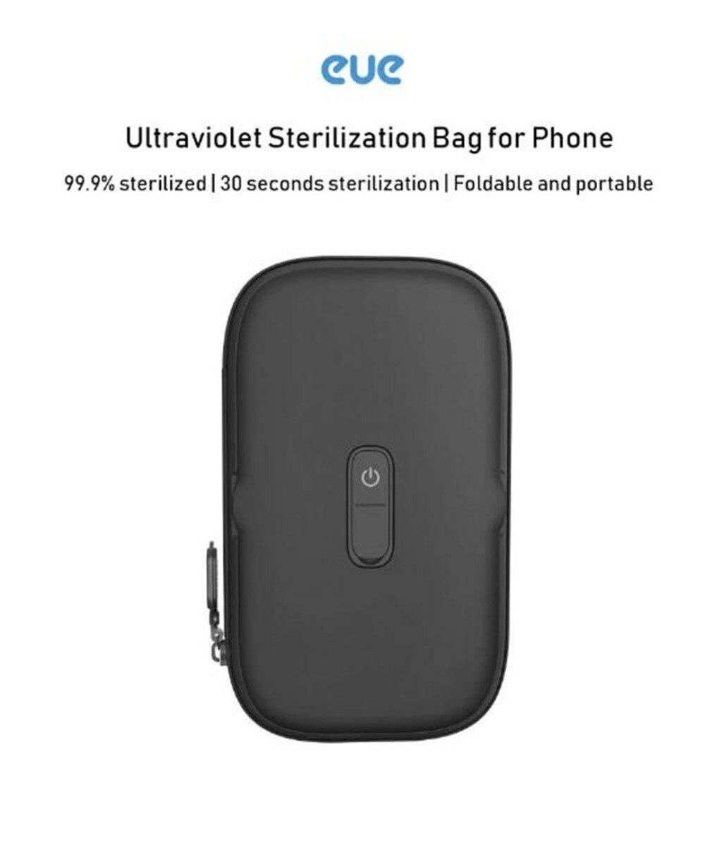 Xiaomi EUE Ultraviolet sterilization package for mobile phonessmall item UV Germicidal Portable Sterilization Bag Disinfection (1)