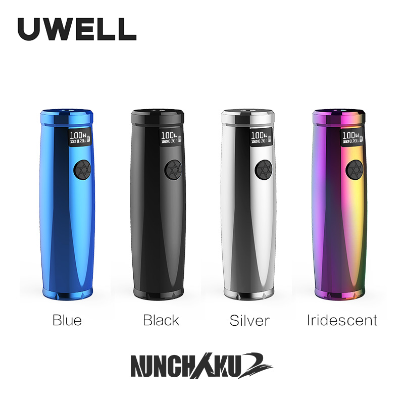 UWELL Nunchaku 2 Mod Supports 18650/20700/21700 Batteries Fit For Nunchaku 2 Tank E-cigarette Vape Mod